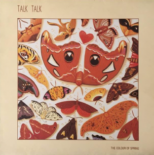 Talk Talk - The Colour Of Spring (LP) (VG-/VG)